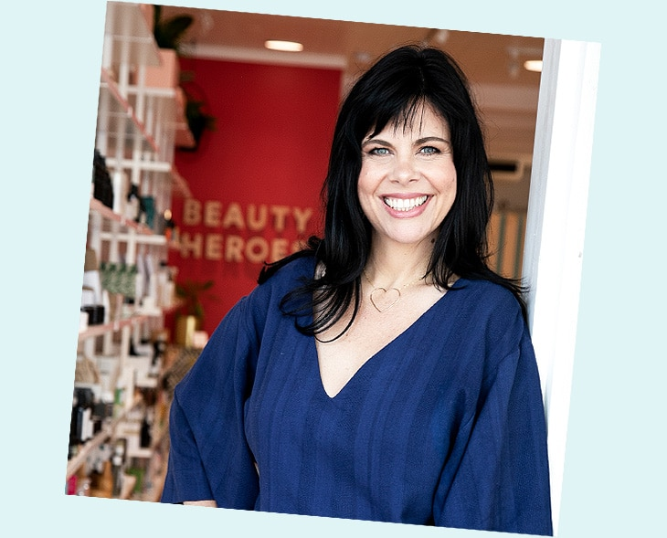 Jeannie Jarnot in the Beauty Heroes Flagship Store